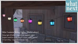 new mini lantern string lights at what next