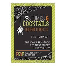 Halloween Costume Party Invitation Zazzle Com