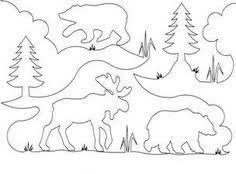 BEAR/MOOSE QUILT PATTERN | Quilts & Patterns | quilt stencils ... & BEAR/MOOSE QUILT PATTERN | Quilts & Patterns Adamdwight.com