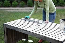 painted wood patio furniture. Painting Wood Patio Furniture Outdoor Painted Color 1 . O