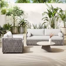 coastal outdoor sofa lounge chair