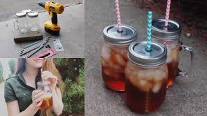 Decorating Mason Jars For Drinking DIY Mason Jars With Straw Lids YouTube 45