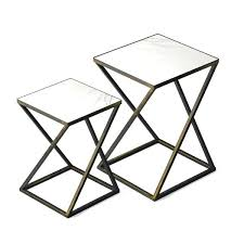 black and gold side table side table set in black gold finish gold and black glass black and gold side table