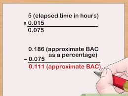 How To Calculate Blood Alcohol Content Widmark Formula 14
