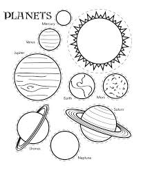 Planet Coloring Page free printable planet coloring pages for kids on coloring sheets of the planets