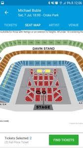 Michael Buble Block 3 Tickets For Sale In Clondalkin Dublin