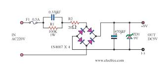 ac to dc converter circuit diagram info transformerless power supply circuit eleccircuit wiring circuit