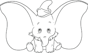 Elephant Coloring Page Baby Elephant Coloring Page Elephant Coloring