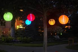 Three Hanging Solar Outdoor Lanterns In Budget Midrange And For