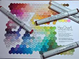 Copic Chart Its Marker Geek Monday Stamping Bella