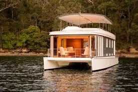 Small Picture worlds first solar powered houseboat tropical barge ideas and