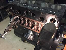 rebuilding a l134 willys chain drive engine haines garage using a small dab of grease to hold the lock retainer in place on the valve i install them buy hand the tapered shorter end of the retainer goes toward