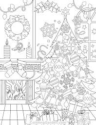 Printable Holiday Coloring Pages Page Savior Free Weareeachother