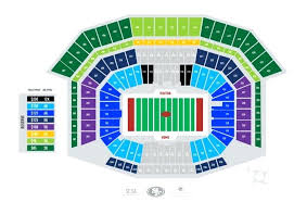 San Francisco 49ers Seating Chart 3d 49ers Stadium Seats Pricing Chart Levis Seating 3d Noahd