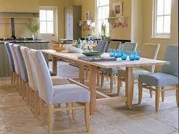 H Underframe Oak Dining Table