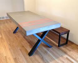 concrete and wood furniture. Concrete Furniture Furniture, Handcrafted And Wood