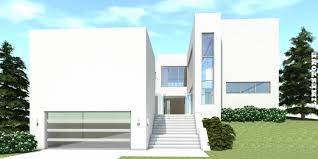 116 1067 this is a computer rendering of the this modern house plan