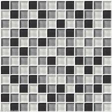 bathroom tiles black and white. Contemporary Black Wall Tile Stickers Bathroom Black Grey White Glass Ceiling  Mirror Tiles In And