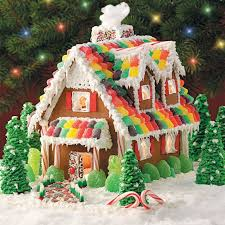 Ideas using gingerbread christmas home decorations Icing Gingerbread Christmas Cottage Taste Of Home Gingerbread Christmas Cottage Recipe Taste Of Home