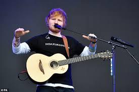 Ed Sheeran Scoops The Official Chart Record Breaker Award