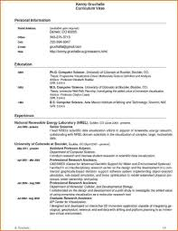 Gallery Of Science Resume Templates Coal Mining Data Scientist