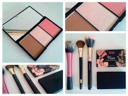 sleek face form contouring blush palette review