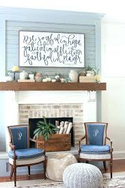red brick fireplace decorating ideas decor fall mantel to inspire decorations fantastic id