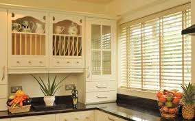Decorating White Faux Wood Blinds Lowes  White Wood Blinds Real Wood Window Blinds