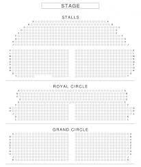 Hamilton Seating Chart Seating Chart