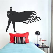 batman wall decal plus standing hero wall decal zoom batman wall stickers uk gbb