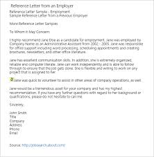20 Free Recommendation Letter For Job Pdf Word Doc Formats