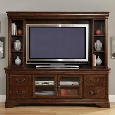 Tv Entertainment Stand Entertainment Tv Stand Hutch By Liberty Furniture Wolf And