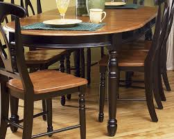 British Isles Oval Leg Dining Table With Two Leaves By Aamerica At Rifes Home Furniture