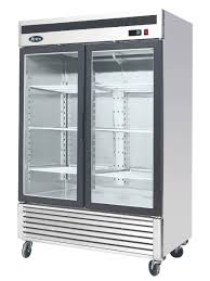 atosa mcf8707 double glass door display fridge quick view