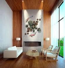 office deco. Metal Wall Art Sculpture 3D Contemporary Modern Home Office Deco Masterpiece
