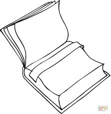 Disegno Di Libro Scolastico Con Segnalibro Da Colorare Disegni Da