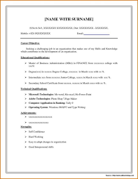 Winway Resume Free Template Of Business Resume Budget Proposal
