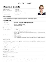 Curriculum Vitae Classy Cvdopracyplimgklasyczny48png