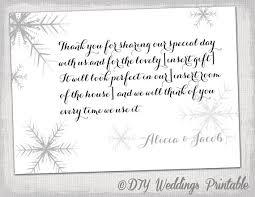 snowflake thank you cards snowflake thank you card template snowflake winter