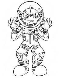 Disegno Da Colorare Fortnite Skin Leggendarie Leviathan 1