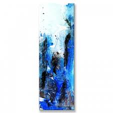 glacial energy painting acrylic abstract blue