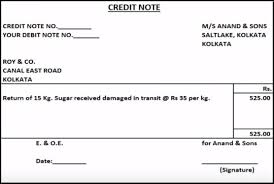 Debit Note Letter Sample Delectable Debit Note And Credit Note Explained With Meaning And Uses