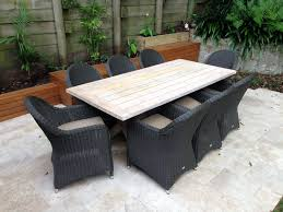 outdoor wood dining table. Outdoor Furniture Dining Teak Lyon Raffles Wood Table R