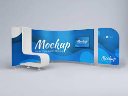 Free 3D Trade Show Booth Display Mockup ...
