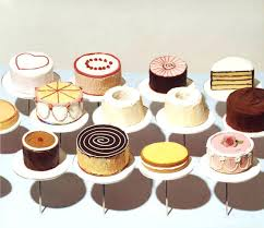 wayne thiebaud prints cakes paintings