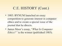 essay ethics computer   writefictionwebfccom essay ethics computer