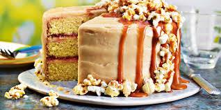 Light Peanut Butter Cake Peanut Butter And Popcorn Layer Cake Recipes Co Op