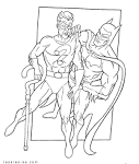 Раскраска супергерой распечатать бесплатно