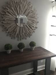 diy sunburst mirror wood shim project diy wall art home decor diy