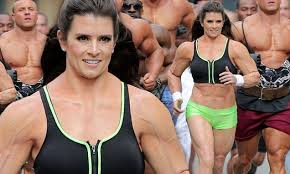 Danica Patrick displays bulky frame to film Super Bowl commercial ...